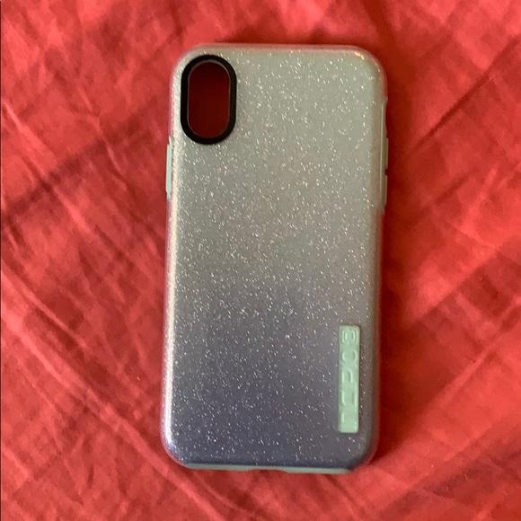 half off ae825 3d49b Incipio Dual Pro Glitter Case iPhone X/XS